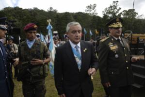 Guatemala's President Molina does not believe the war on drugs can be won by military means