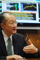 Jim Yong Kim, the candidate from the USA