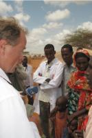 """The adverse consequences of climate change can impact on fundamental human rights, especially those of groups who are already politically or economically worse off."" Dirk Niebel visiting the Dadaab refugee camp in Kenya"