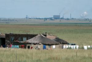 Coal-fired power plant in Kwazulu-Natal, South Africa