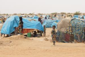 A camp for refugees from Mali in Niger