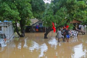 Developing countries need money to adapt to global warming: flooding in Haiti due to Hurricane Sandy in later October 2012