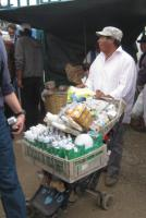 Selling energy saving bulbs in rural Peru