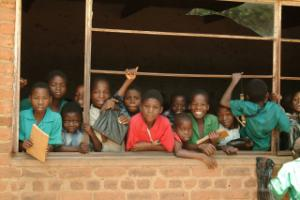 School kids in Malawi / Schulkinder in Malawi