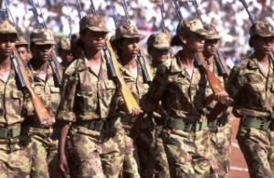 Celebrating independence: about one third of the Eritrean People's Liberation Front's fighters were women