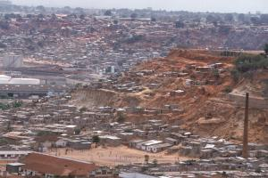 Poverty is at home in Luanda's musseques. In recent years, hundreds of people have died of cholera