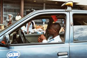 Some taxi drivers in Ghana are covered by a health insurance