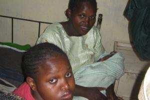 Young mothers after safe deliveries in Viwandani