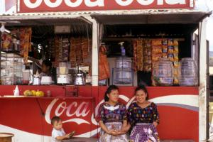 A healthy system taxes all who are engaged in economic activity according to their ability to pay: snack bar in Atitlan, Guatemala