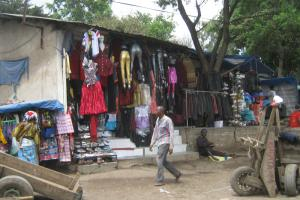 """There must be incentives for small and medium enterprises to formalise operations."" Shop in Arusha, Tanzania"