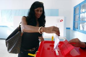 Only a tenth of the top candidates for Tunisia's Constituent Assembly were women