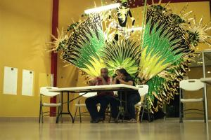 Highly competitive entertainment industry: preparing for the carnical in Trinidad
