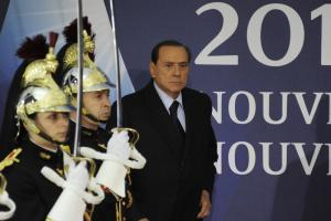 Nine days after Cannes, Berlusconi was no longer in office