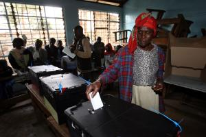 The 2007 presidential elections in Kenya cost more than 1,100 lives