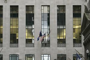 The CBOT exchange in Chicago is the heart of global speculation in agricultural commodities