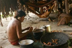 Women and indigenous peoples will be most affected by REDD+: Yanomami camp in Venezuela