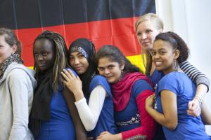 Young migrants from Kenya, Morocco, Pakistan, Russia and Eritrea in Germany