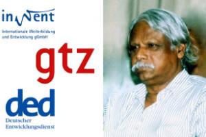 Zafrullah Chowdhury on merger of GTZ, InWEnt and DED